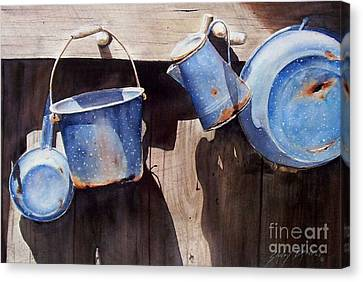 Gone To Pot...sold  Canvas Print