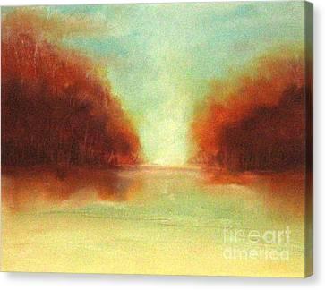 Good Earth   Haze Canvas Print by Rosemarie Glennon Kliegman