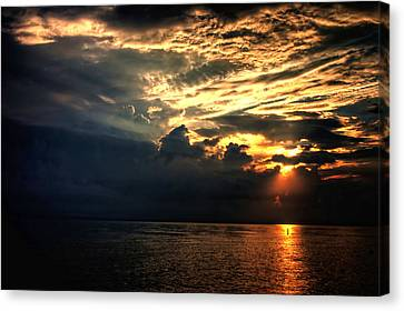 Canvas Print featuring the photograph Good Morning by Joetta West