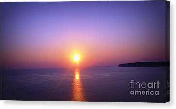 Good Morning Starshine Canvas Print by Nancy Dole McGuigan