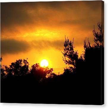 Good Night Mr. Sun Canvas Print
