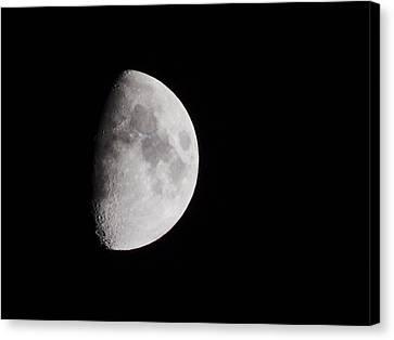 Goodbye Neil Armstrong Canvas Print by Clarice  Lakota