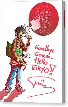 Drawers Canvas Print - Goodbye by Tuan HollaBack