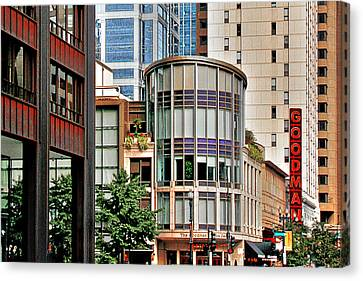 Goodman Theatre Chicago Illinois Canvas Print by Christine Till