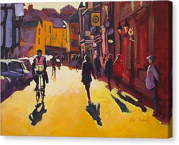 Public Holiday Canvas Print - Goodramgate Sunburst by Neil McBride