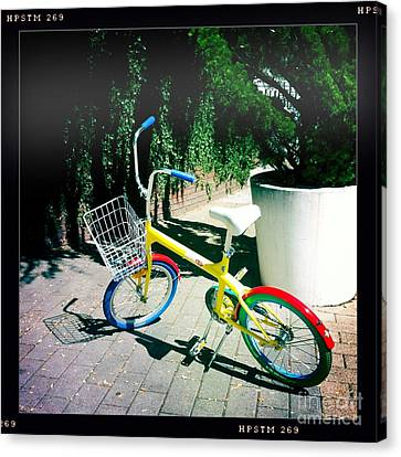Google Mini Bike Canvas Print