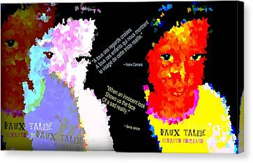 Google The Word - Talibe Canvas Print