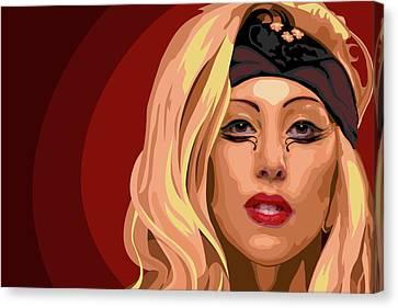 Googoo For Gaga Canvas Print