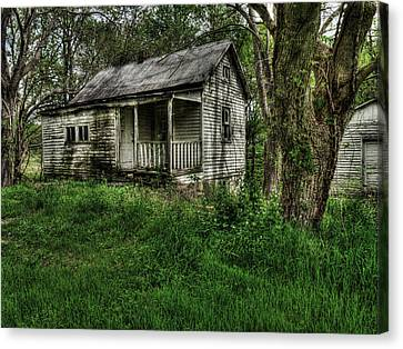Gore Missouri Population Seven Canvas Print by William Fields