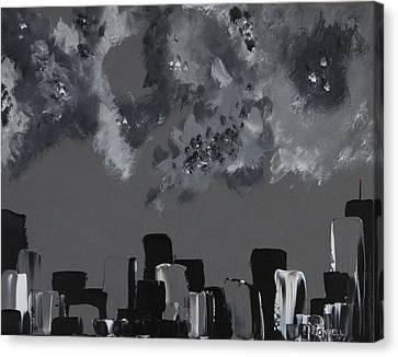 Gotham I Canvas Print by Stephen P ODonnell Sr