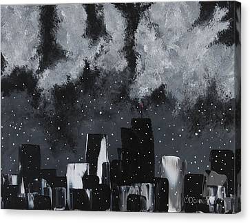 Gotham II Canvas Print by Stephen P ODonnell Sr