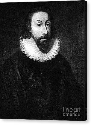 Governer John Winthrop Canvas Print by Extrospection Art