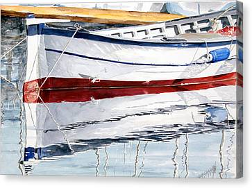 Gozzo Bianco Canvas Print by Giovanni Marco Sassu