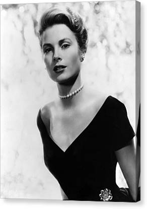 Grace Kelly, 1956 Canvas Print by Everett
