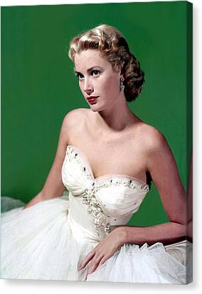 Grace Kelly, C. Mid-1950s Canvas Print by Everett