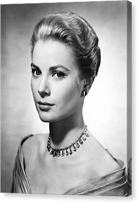 Grace Kelly, Ca. 1950s Canvas Print by Everett
