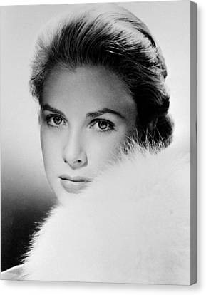 Grace Kelly, Circa 1950s Canvas Print by Everett