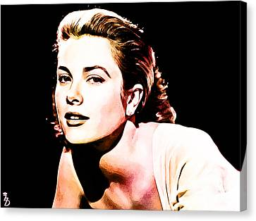 Grace Kelly Canvas Print by The DigArtisT