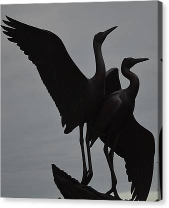 Graceful Silhouettes Canvas Print by Antonia Citrino