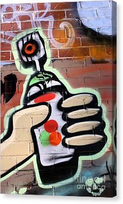 Graffiti 4 Canvas Print by Sophie Vigneault
