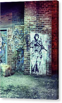 Graffiti Canvas Print by HD Connelly