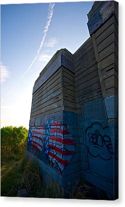 Graffiti Canvas Print by Mike Horvath