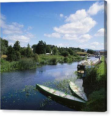 Graiguenamanagh, River Barrow, Co Canvas Print