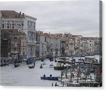 Gran Canal. Venice Canvas Print by Bernard Jaubert