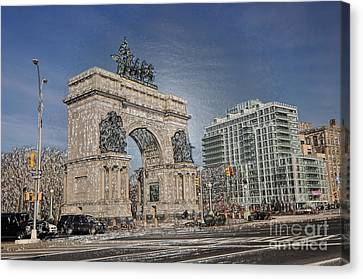 Grand Army Plaza Canvas Print by Mark Gilman
