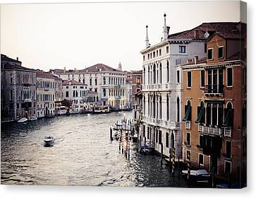 Grand Canal Canvas Print by Stuart Westmorland