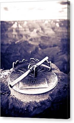 Grand Canyon - Sight Tube Canvas Print by Scott Sawyer