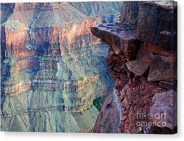 Grand Canyon A Place To Stand Canvas Print by Bob Christopher