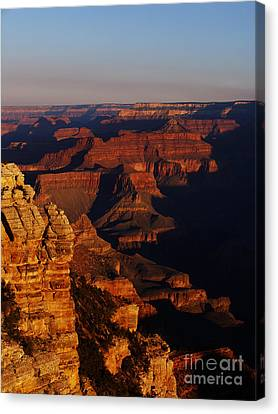 Grand Canyon Sunset Canvas Print by Holger Ostwald