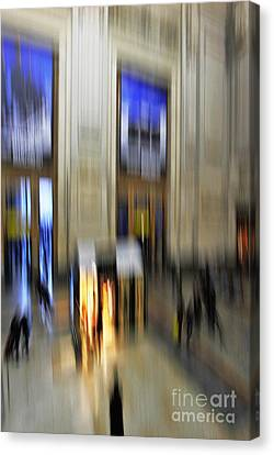 Canvas Print featuring the photograph Grand Central Station Italian Style by Andy Prendy