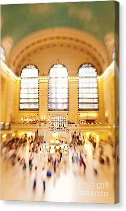 Grand Central Terminal New York City Canvas Print by Kim Fearheiley