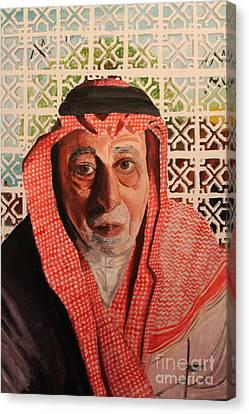Grand Father Canvas Print by Betul Salman