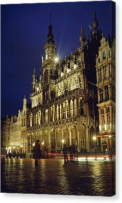 Grand Place Canvas Print by Axiom Photographic
