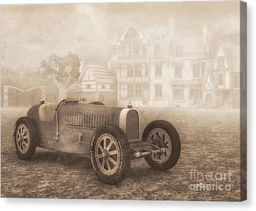 Grand Prix Racing Car 1926 Canvas Print by Jutta Maria Pusl