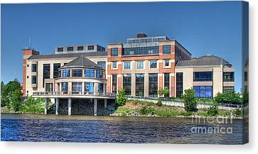Grand Rapids Museum Canvas Print by Robert Pearson