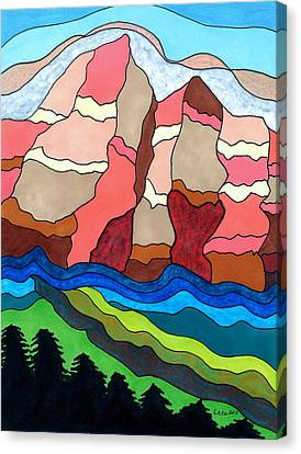 Grand Tetons Canvas Print