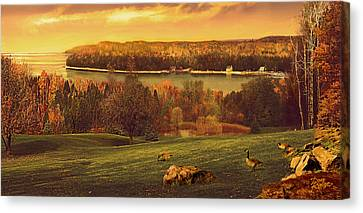 Grand View Canvas Print by Doug Kreuger