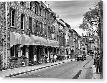 Canvas Print featuring the photograph Grande Allee by Eunice Gibb