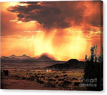 Prescott Canvas Print - Granite Mountain by Arne Hansen