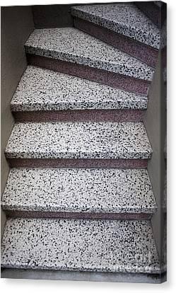 Granite Stairs Canvas Print by Sam Bloomberg-rissman