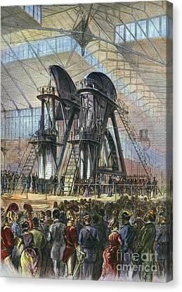 Grant & Brazilian Emperor Canvas Print by Granger