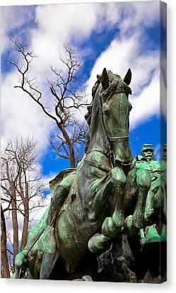 Grant Cavalry Canvas Print by Nicolas Raymond