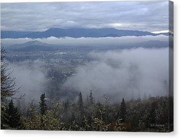 Grants Pass Weather Canvas Print by Mick Anderson