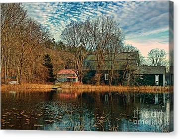 Granville Ma Canvas Print by HD Connelly