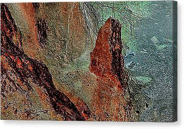 Canvas Print featuring the photograph Grape Creek by Louis Nugent