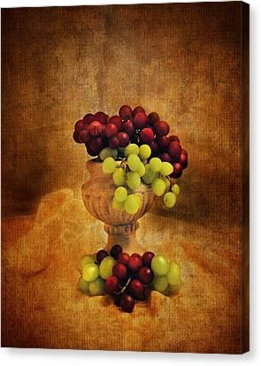 Grapes Canvas Print by Jai Johnson